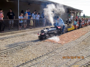 Photo: TSR # 400 leaving the station.     HALS Public Run Day 2014-0419 DH3