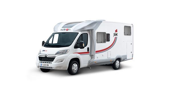 Venta y alquiler de autocaravanas ILUSION XMK 670 en Zaragoza y Huesca
