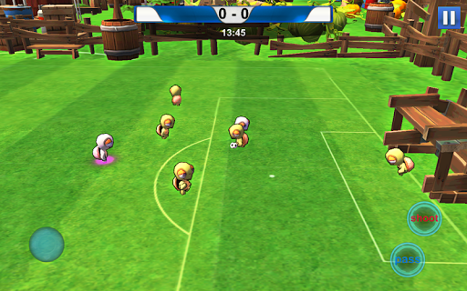 Turtle Soccer Cartoon Game