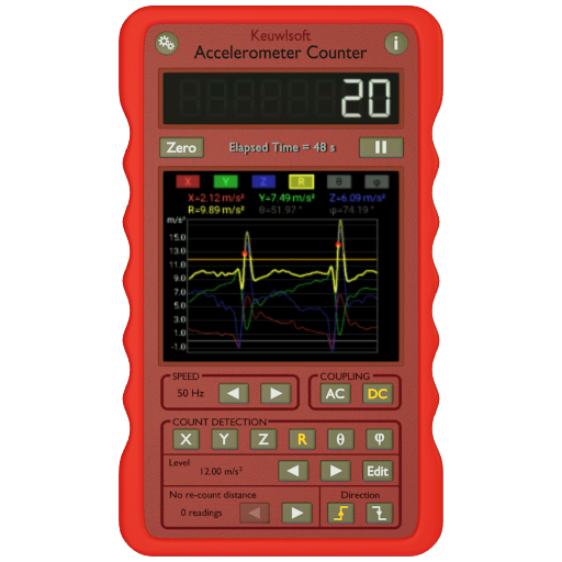 Accelerometer Counter Android APK Download Free By Speed Logic Software