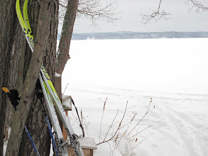Photo: Tuossa laatikossa on vihko, johon merkitään käynti Selkäsaaressa - 4.2.2010..