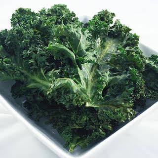 Sea Salt Vinegar Kale Chips.