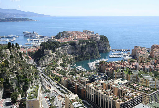 Monaco-Monte-Carlo.jpg - The lovely principality of Monaco hugs the coast on France's Cote d'Azur.