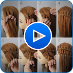 Hairstyle Video Tutorial for Girls 2019 1.3