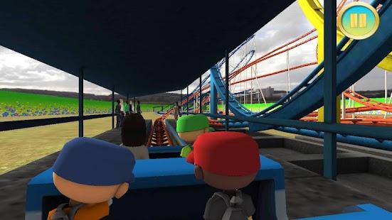7 Real Roller Coaster Simulator App screenshot