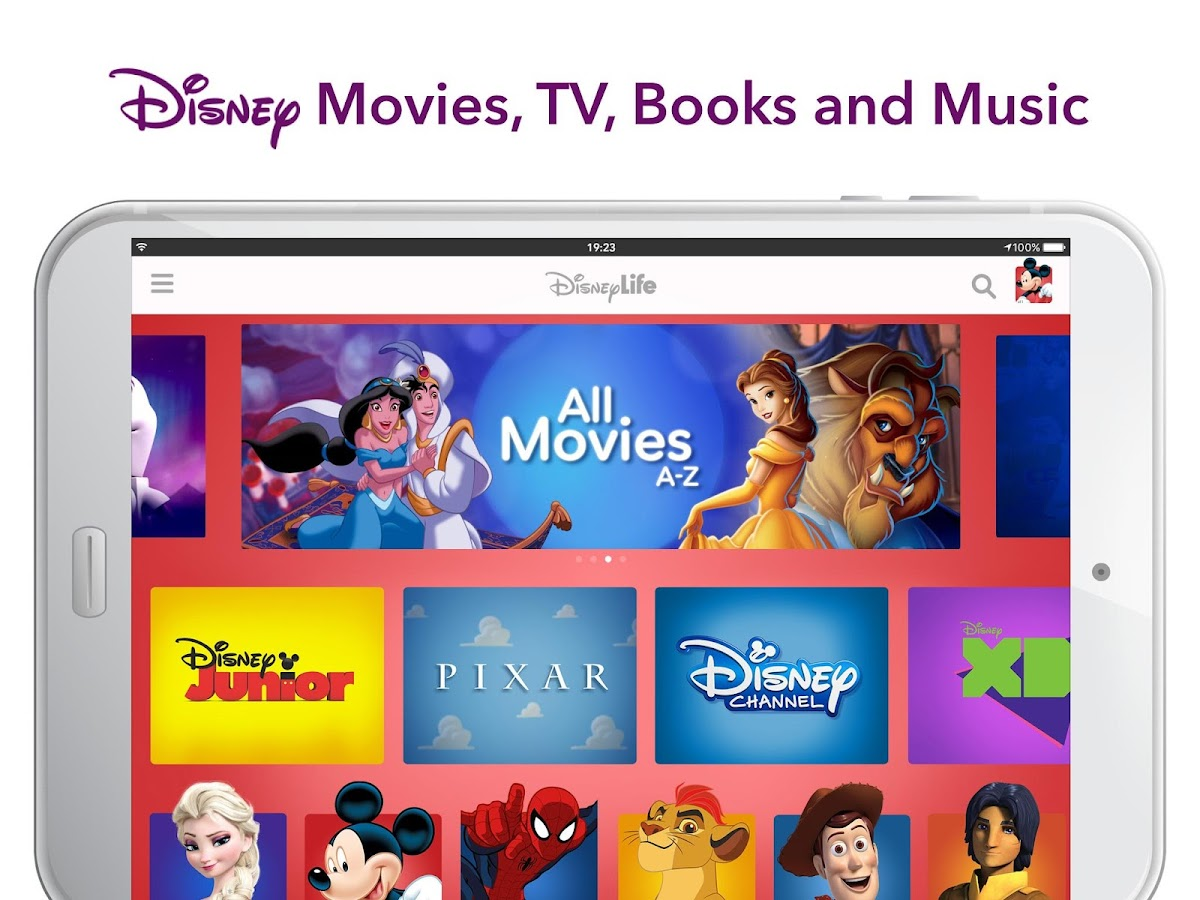 DisneyLife - Watch Movies & TV- screenshot