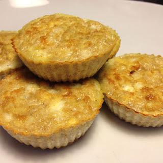 Apple Cheesecake Muffins.