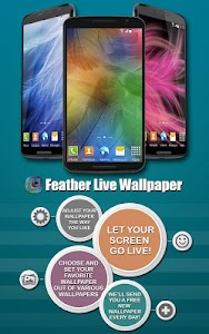 Feather Live Wallpaper screenshot 0