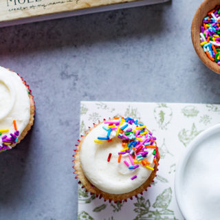 Molly Yeh's Funfetti Cupcakes