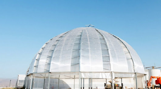 Realizan ensayos con un invernadero urbano