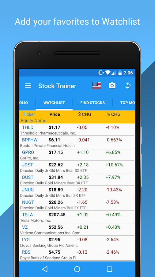 Stock Trainer: Virtual Trading- screenshot