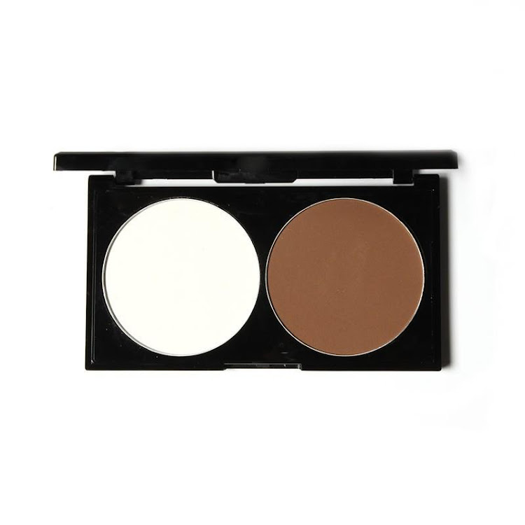 By Nanda Matte Bronzer Highlights The Shadow Powder Cake Bronzer Pressed Powder Palette Double Groom
