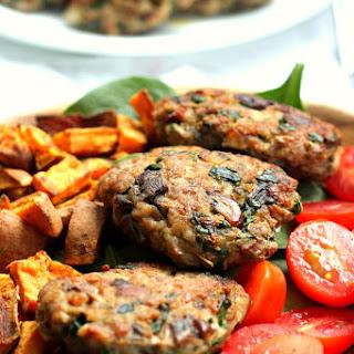 Mushroom Spinach Homemade Sausage Patties {Paleo & Whole30}