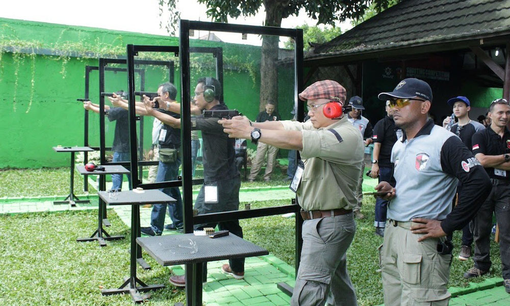 batik club shooting range jakarta