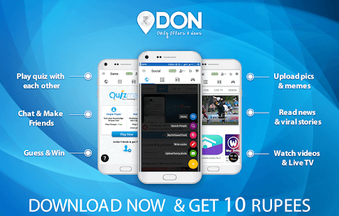 DON: Read News, Stories for Free & Earn- screenshot thumbnail