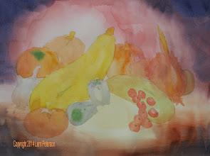Photo: PV watercolor class week 1