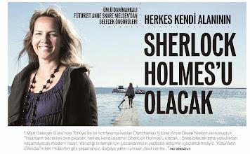 Photo: 1 Mart Gelecek Günü 2014 - Anne Skare Nielsen, 2 Mart 2014 Star Gazetesi, Pazar Eki