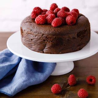 Paleo Chocolate Raspberry Cake.