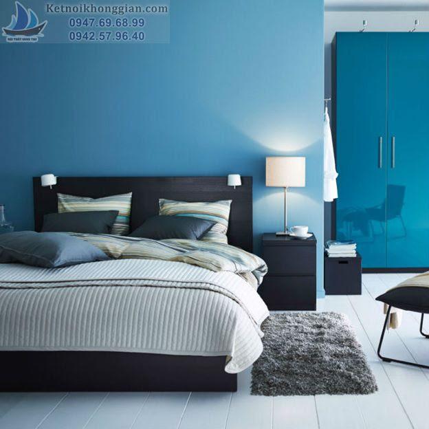 thiết kế phòng ngủ,. chọn màu cho phòng ngủ