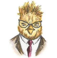 Tim Holtz Sizzix Thinlits Die Set 5/Pkg - Hipster Bird