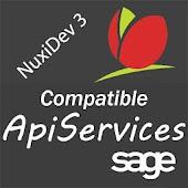Sage APIservices via NuxiDev3