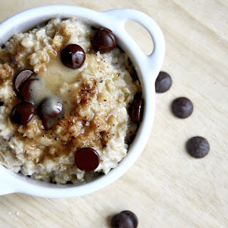 Overnight Chocolate Chip Cookie Dough Oatmeal