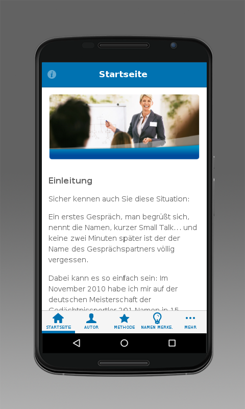 Namen Merken- screenshot
