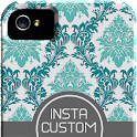 Insta Custom Phone Case TShirt icon