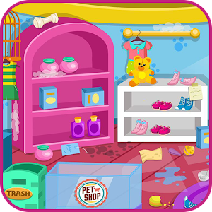 Clean up pet shop for PC and MAC