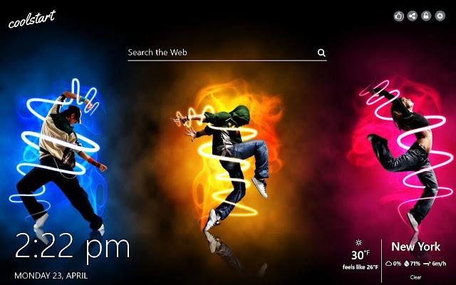 Dance HD Wallpapers Music New Tab Theme