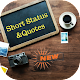 Download Best Short Status and Quotes For PC Windows and Mac