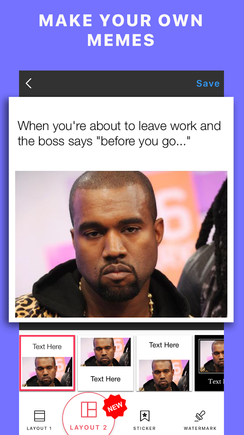 Meme + Memes Maker & Generator Screenshot 0