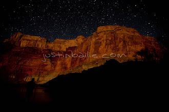 Photo: Night shot of the Grand Canyon. Grand Canyon National Park, AZ.