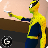 Spider Crime City Bank Rescue - FPS Shooting Game