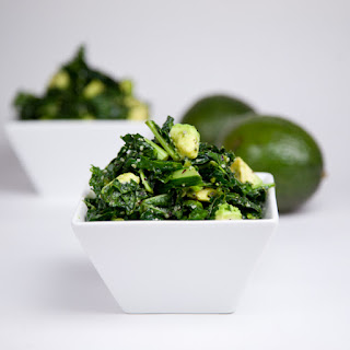 Kale Salad with Homemade Trader Joe's Island Soyaki Dressing