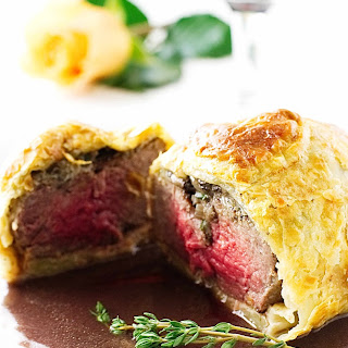 Mini Beef Wellingtons with Cabernet Sauce Recipe