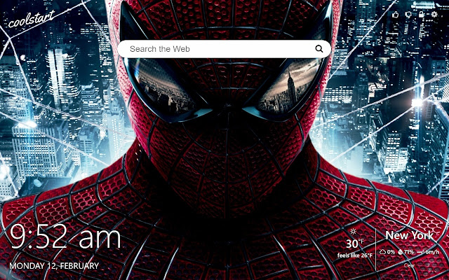 Spider Man HD Wallpapers New Tab Theme