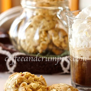 Brown Butter, White Chocolate and Pecan Cookies.