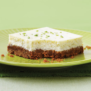 Lime Cheesecake Squares