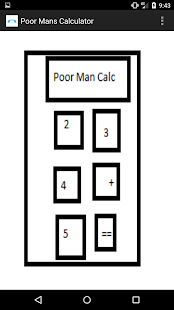 Poor Man Calculator- screenshot thumbnail