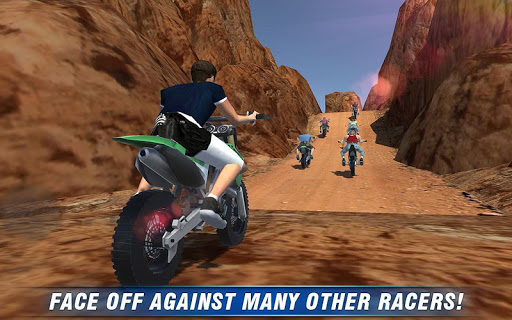 道の4x4ヒルバイク3Dオフ