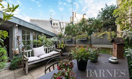 appartement de luxe avec terrasse paris