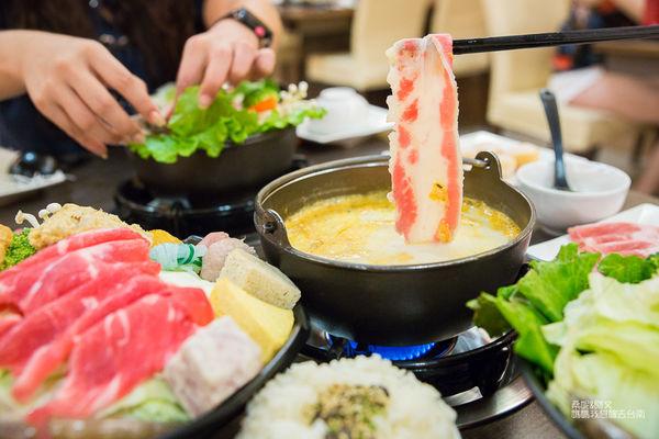 【台南】牛奶鍋推薦,特別選用綠光牧場的牛奶➤珍杏擱牛奶鍋物