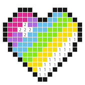 No.color art - color by number, pixel art pro icon