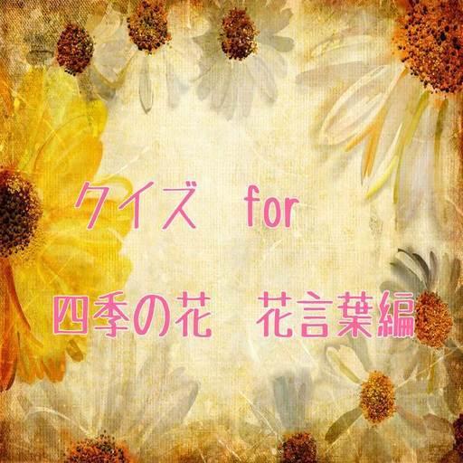 クイズ for 四季の花 花言葉編