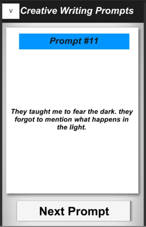 creative writing tools android Struggling with writer's block find inspiration through this creative writing tool that can be used by writers, students or as a creative game to spark your imagination.