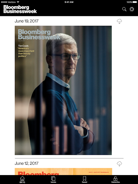 Bloomberg Businessweek+ screenshot 6