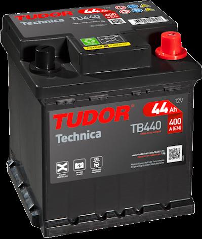Startbatteri Tudor EXIDE 12V/44Ah Technica---