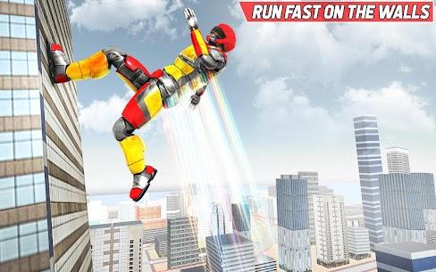 Bodyguard Robot Rope hero – Robot Crime Simulator 1.9 Latest MOD APK 1