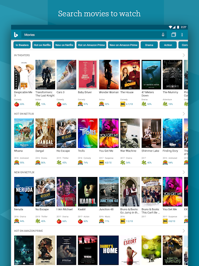 Screenshot 11 for Bing's Android app'
